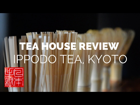 Tea house Review - Ippodo - Letters from Japan