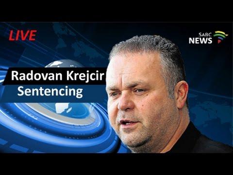 Radovan Krejcir sentencing, 22 February 2016