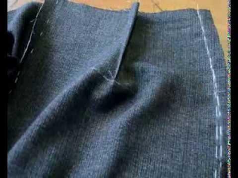 Шьем Юбку Карандаш. Правильно  Обрабатываем и Утюжим Боковые Швы при пошиве Юбки Карандаш.