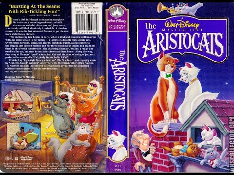 Opening to The Aristocats 1996 VHS