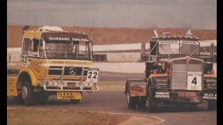 The first Truck race in Australia 1987