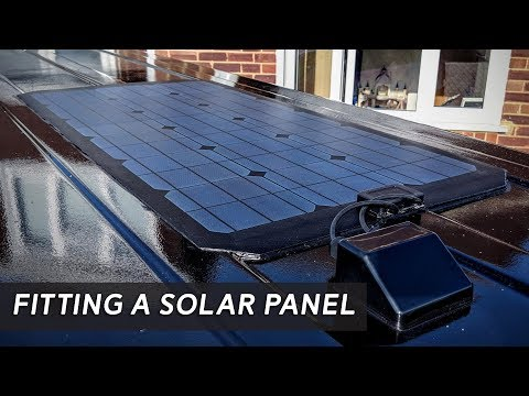 fitting-a-solar-panel---self-built-diy-vw-t5-camper-conversion