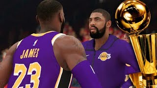 KYRIE JOINS THE LAKESHOW