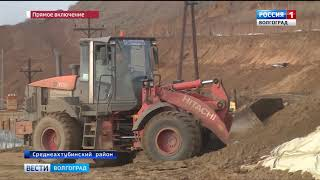 В Волгоградской области готовят к запуску мост через Ахтубу