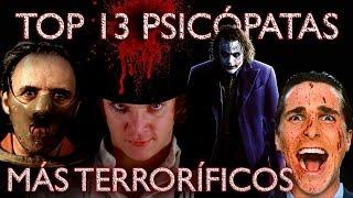 TOP 13 PSICÓPATAS   VIDEOS ESCENAS MIEDO   PELICULAS DE TERROR   MEJORES DISFRACES HALLOWEEN 2015