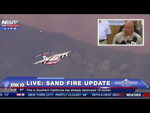 FNN: FULL COVERAGE Day 1 of Democratic National Convention, PLUS - LA Sand Fire Update