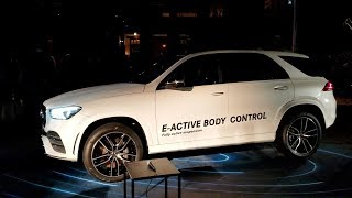 All-New 2020 Mercedes GLE Dancing car! E-Active Body Control