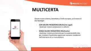 Multicerta - Comunicazioni digitali a valore probatorio.