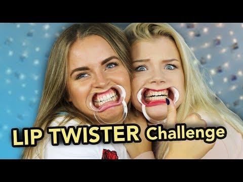 LIP TWISTER CHALLENGE / KEYYO Hänger med P3 Star