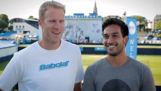 Dom Inglot & Treat Huey 2014 Aegon International Men