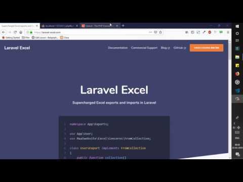 Tutorial Export Data Dalam Format Excel Pada Framework Laravel