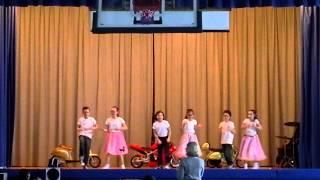 Variety show dance hound dog