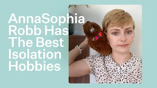 You'll Never Guess What Hobby AnnaSophia Robb Picked Up In Self Isolation | Bustle YouTube Videos