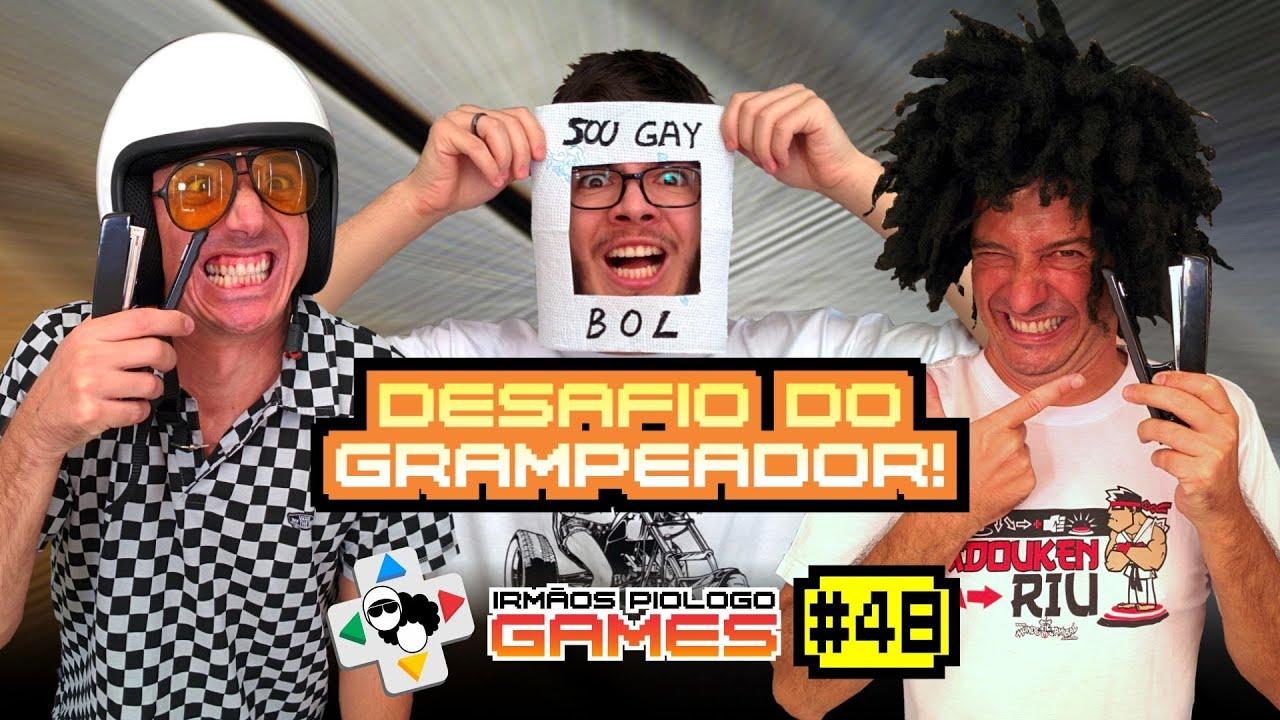 Download Irmãos Piologo Games 48 - Grampeando o Gaybol!