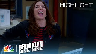 Gina's Secretary Lists Off The Best Burns | Season 4 Ep. 2 | BROOKLYN NINE-NINE