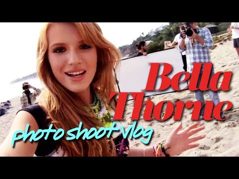 Bella Thorne Vlogs Behind the Scenes of her Cover Shoot