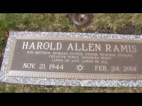 Harold Ramis' Grave  Shalom Memorial Park  Arlington Heights, Illinois