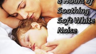 *8 HOURS* of Mother and Baby Soft White Noise, See the diffrence
