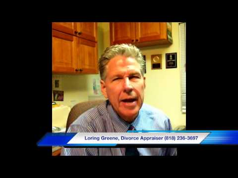 Los Angeles Divorce Appraiser - Loring Greene 818-236-3697