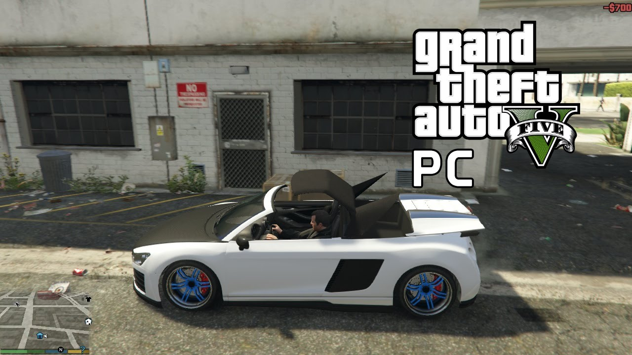 Gta 5 Pc How To Take The Car Roof Off Gta 5 Youtube
