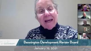 Bennington Development Review Board Meeting // 01/19/21