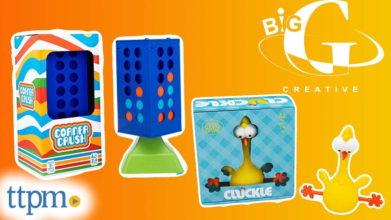Corner Crush Game of Memory and Strategy & Cluckle The Free Range Word Game Review!