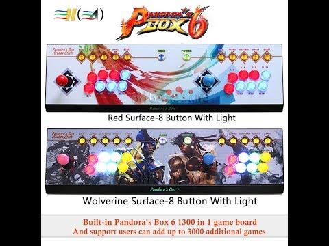 Pandora Box 6 As Arcade Stick Controller To PS3 & PC