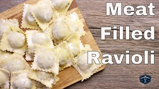 Meat Filled Ravioli Recipe - 4K Le Gourmet TV