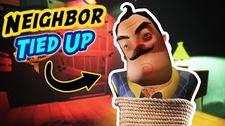 Capturing The Neighbor IN HIS *OWN* HOUSE!!! (He's SO Mad) | Hello Neighbor Gameplay (Mods)