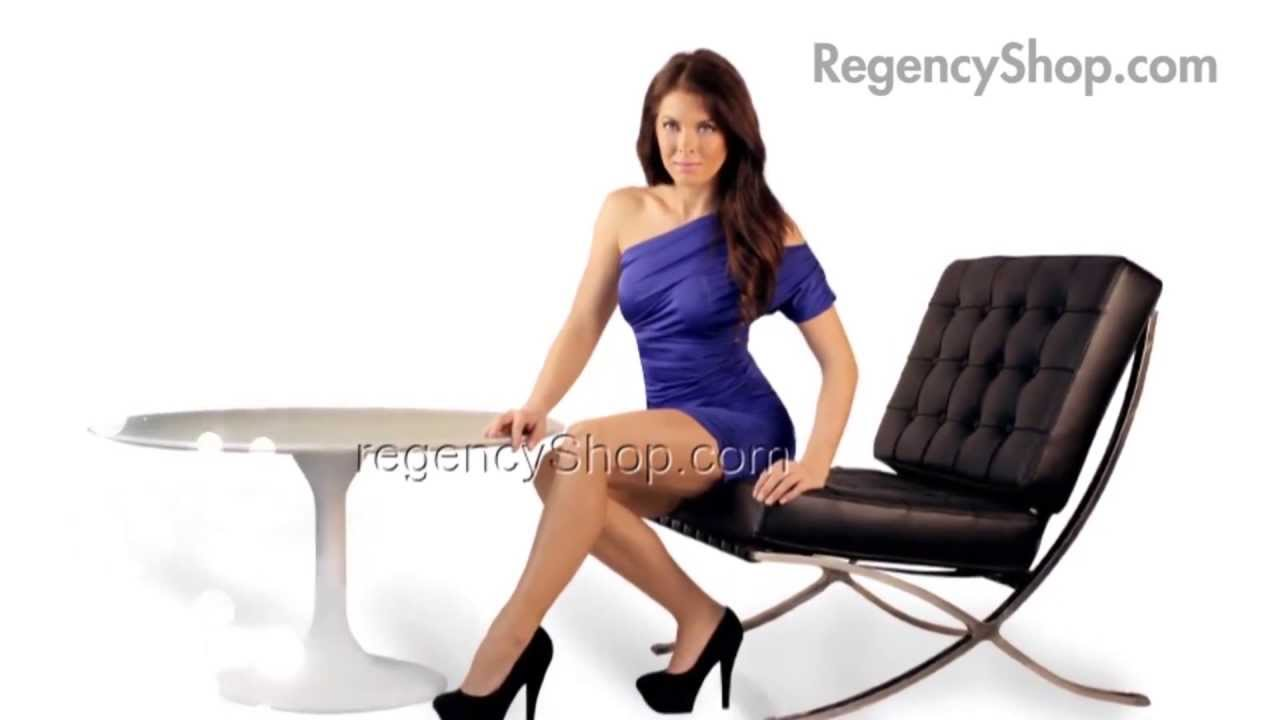 Tulip Saarinen Table - Regencyshop.com - YouTube