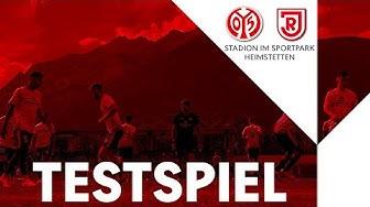 RE-LIVE: Testspiel | 1. FSV Mainz 05 - SSV Jahn Regensburg