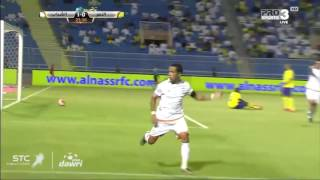 Saudi Pro League : Al Nasr 1 - Al Shabab 2 (but de Mohamed Benyettou) 2017 Video
