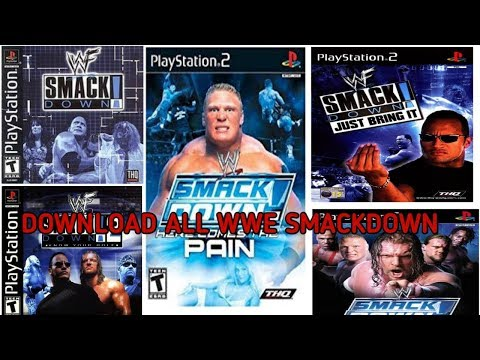 🔫 Download All WWE And WWF Smackdown Games🔫 In Your Android🔫 Play All Games In Your Android🔫