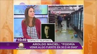 Aroldo Maciel vaticina posible sismo fue...