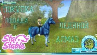 """Играем в Star Stable Online """"Покупка лошади#2.СИНИЙ КОНЬ!!"""""""