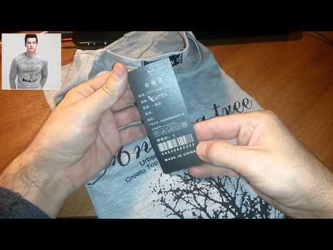 Посылка из Финляндии(мужская футболка с длинным рукавом)