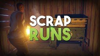 SCRAP RUNS! - Rust SOLO Survival #3 | S3