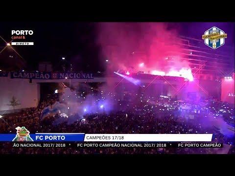 Fantástica Festa fora do Estádio na Alameda | FC PORTO CAMPEÃO NACIONAL 2017/2018