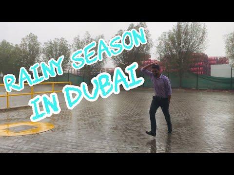 Rainy Season In DUBAI 2019 | Flood In Jebel Ali
