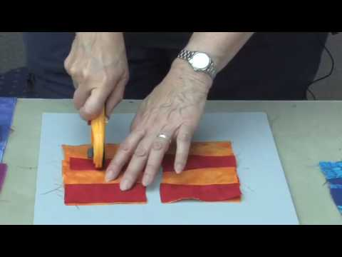 Alicia Merrett: Contemporary Art Quilt Demonstration - Part 2 OF 3
