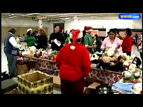 Salvation Army Toy Store Provides Gifts For Children