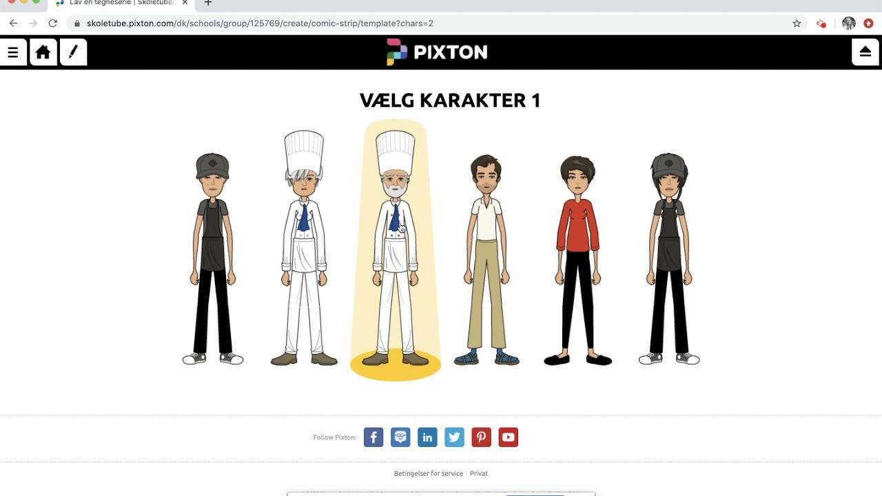 Hvordan åbner jeg Pixton?