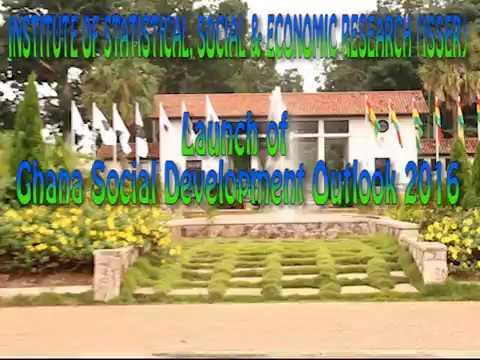 Launch of Ghana Social Development Outlook (GSDO) 2016