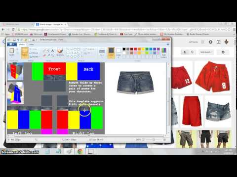 How to Make Shorts and Sneakers on ROBLOX