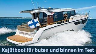 Aquador 35 AQ – Kajütboot für buten und binnen