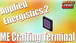 ME Crafting Terminal (Applied Energistics 2) | Minecraft Mod Tutorial