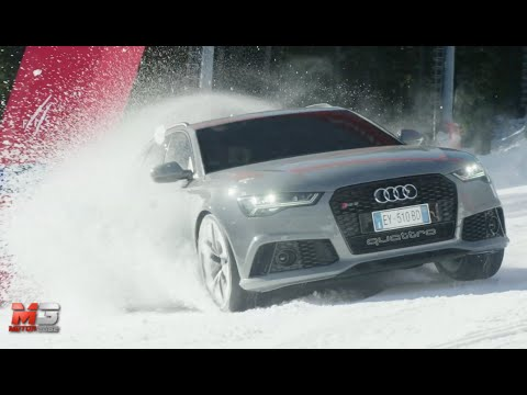 new audi rs6 avant 2015 crazy snow test only sound youtube. Black Bedroom Furniture Sets. Home Design Ideas