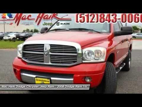 Mac Haik Dodge Temple Tx >> 2008 Dodge Ram 1500 Temple TX 139044A - YouTube