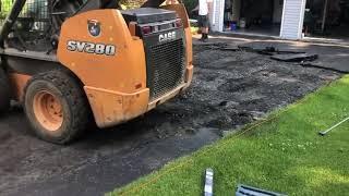 Driveway resurfacing job