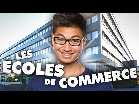 LES ÉCOLES DE COMMERCE - LE RIRE JAUNE